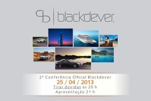 aviso conferencia blackdever hoje