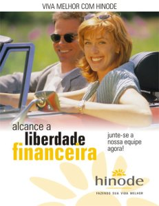 hinode independencia financeira
